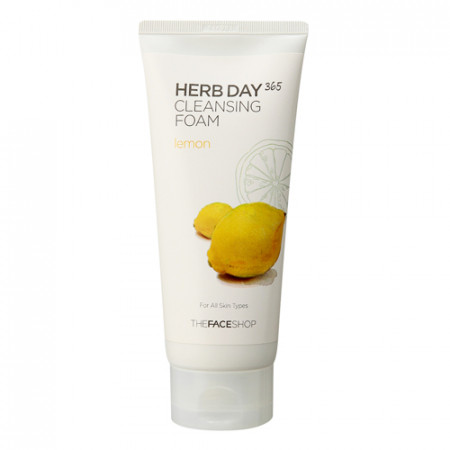 HERB DAY 365 CLEANSING FOAM LEMON