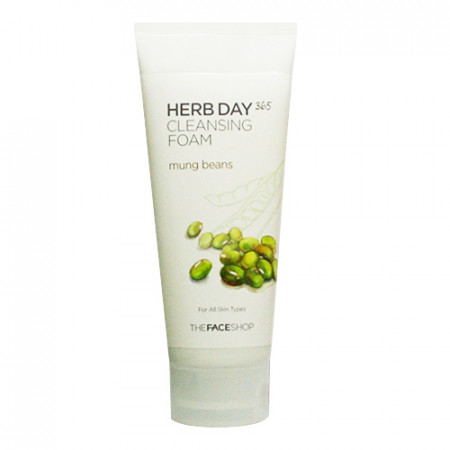 HERB DAY 365 CLEANSING FOAM MUNG BEANS