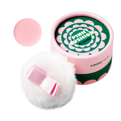 LOVELY MEEX PASTEL CUSHION BLUSHER 04 PINK CUSHION