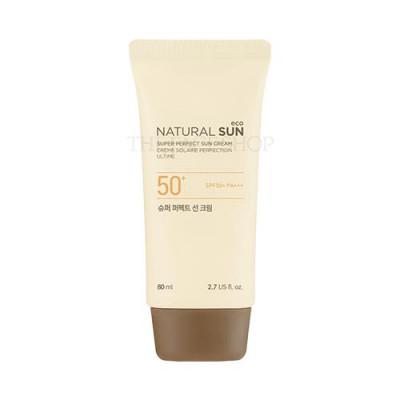 NATURAL SUN ECO SUPER PERFECT SUN CREAM SPF50+ PA+++ (80ML)