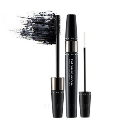 2 IN 1 CURLING MASCARA 01 BLACK