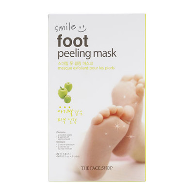 SMILE FOOT PEELING MASK