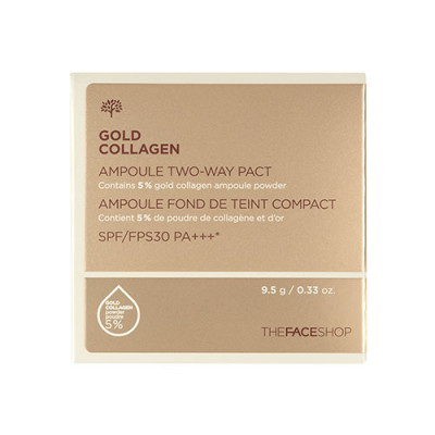 TFS GOLD COLLAGEN AMPOULE TWO-WAY PACT SPF30 PA+++V201 (REFILL)