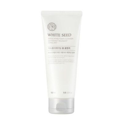 WHITE SEED EXFOLIATING FOAM CLEANSER