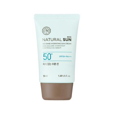 NATURAL SUN ECO NO SHINE HYDRATING SUN CREAM SPF50+ PA+++