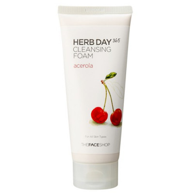 HERB DAY 365 FOAMING CLEANSER ACEROLA