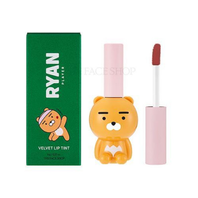 CLUB RYAN VELVET LIP TINT 04 SOFT BROWN