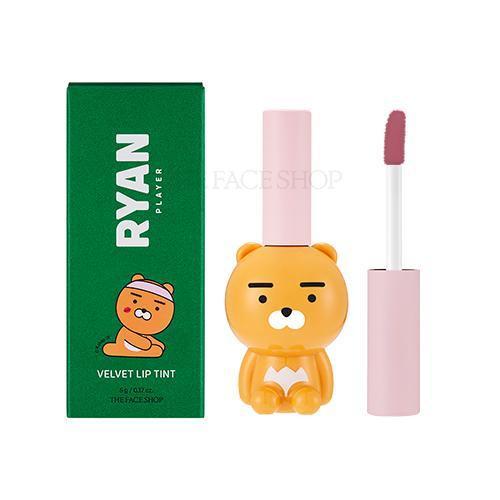 CLUB RYAN VELVET LIP TINT 01 GRACEFUL ROSE