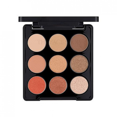 MONO POP EYESHADOW PALETTE 01 MOOD BROWN
