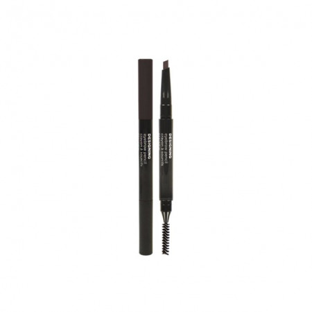 DESIGNING EYEBROW PENCIL 04 BLACK BROWN