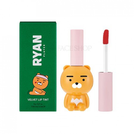 CLUB RYAN VELVET LIP TINT 02 LIVELY PINK