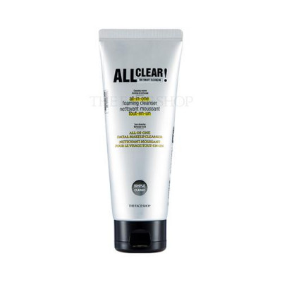ALL CLEAR ALL-IN-ONE FOAMING CLEANSER