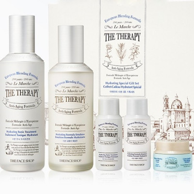 THE THERAPY HYDRATING SPECIAL GIFT SET