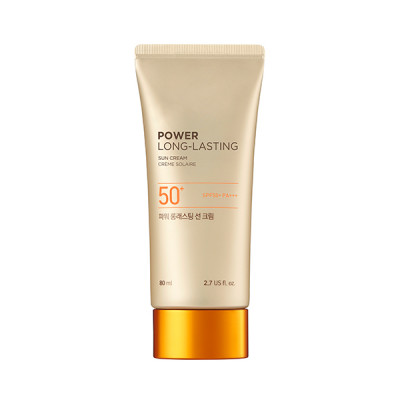 NATURAL SUN ECO POWER LONG-LASTING SUN CREAM SPF50+ PA+++ (80ML)