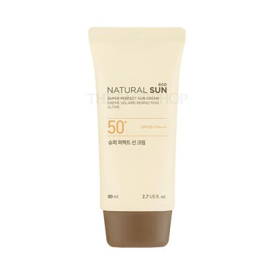 NATURAL SUN ECO SUPER PERFECT SUN CREAM SPF50+ PA+++ (80ML)