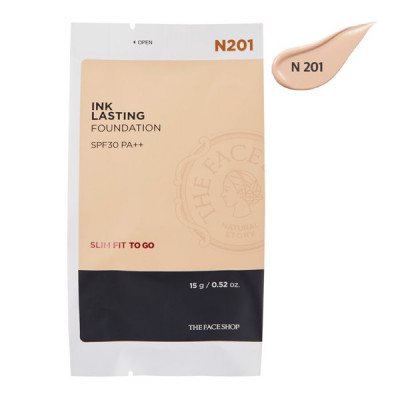 INK LASTING FOUNDATION SLIM FIT TO GO SPF30 PA++ N201(REFILL)