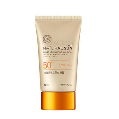 NATURAL SUN ECO POWER LONG-LASTING SUN CREAM