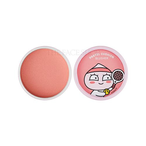 CLUB APEACH PASTEL CUSHION BLUSHER 02 LALALA CORAL