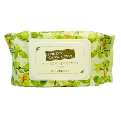 HERB DAY CLEANSING TISSUE (70)
