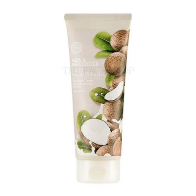 MILK & SHEA BUTTER RICH BODY CREAM