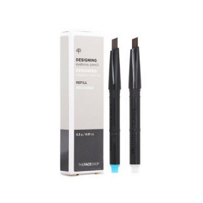 DESIGNING EYEBROW PENCIL 01 LIGHT BROWN (REFILL)