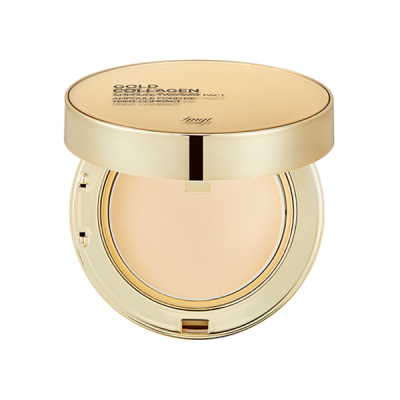 GOLD COLLAGEN AMPOULE TWO-WAY PACT SPF40 PA++ 201 APRICOT BEIGE