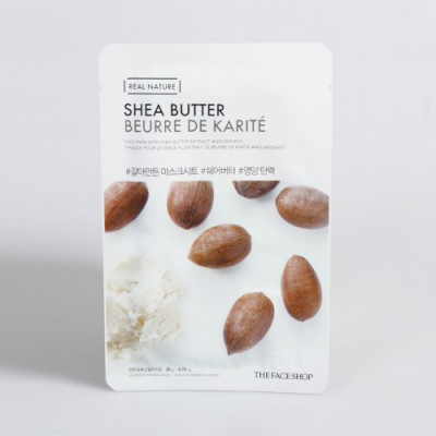 REAL NATURE SHEA BUTTER FACE MASK