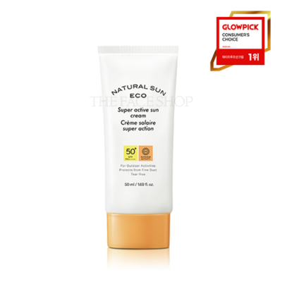 NATURAL SUN ECO SUPER ACTIVE SUN CREAM SPF50+ PA++++
