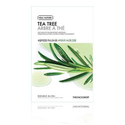 REAL NATURE TEA TREE FACE MASK