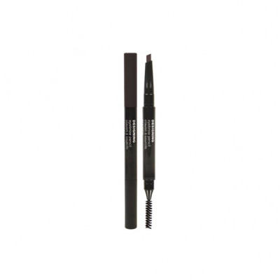 DESIGNING EYEBROW PENCIL 04 BLACK BROWN